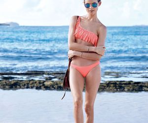 beach and Behati Prinsloo image