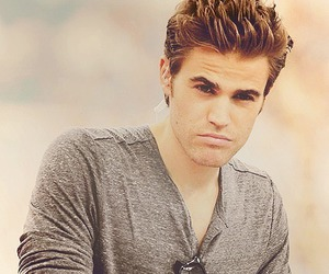 paul wesley, tvd, and the vampire diaries image