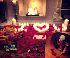 love, rose, and romantic image