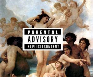 art, pale, and parental advisory image