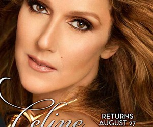 celine dion, my idol, and August image