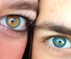 blue, teen, and eyes image