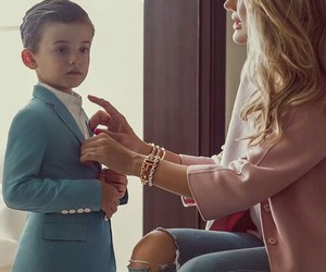 children, elegant, and fashion image