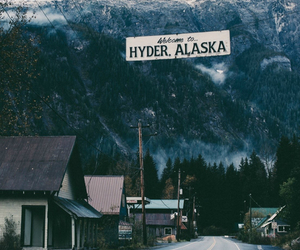 alaska, road, and travel image