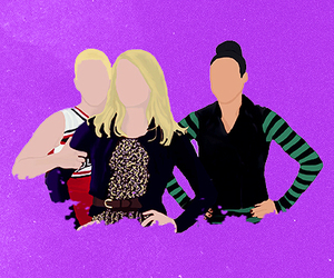 brittany, glee, and pierce image