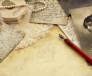 fountain pen, vintage, and traditional image