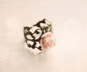 ring, fashion, and rose image
