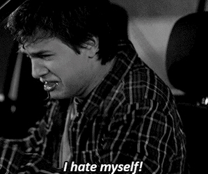 hate, augustus waters, and the fault in our stars image