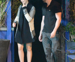 chris evans and lily collins image