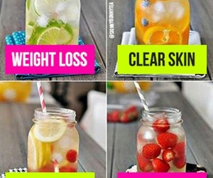 fitness, drink, and weight loss image