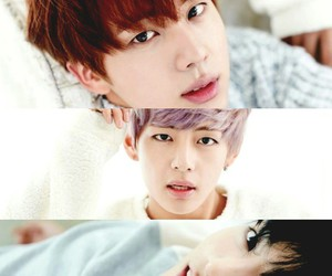 jin, vintage, and v image