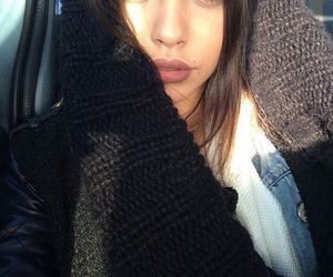 girl, beautiful, and icon image