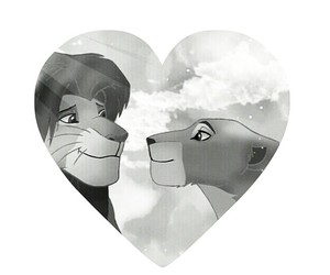 black and white, couple, and disney image