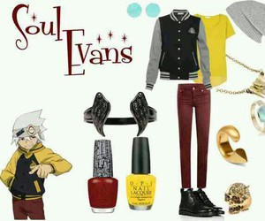 anime, soul eater, and soul evans image