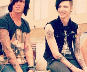 kellin quinn, bvb, and sleeping with sirens image