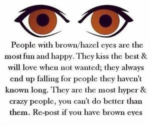 brown eyes, me, and i haz image