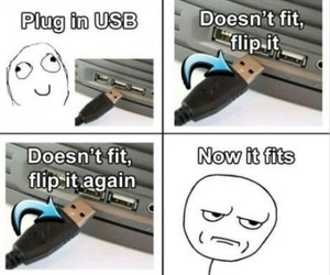 funny, usb, and lol image