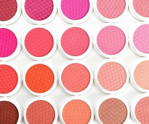 beauty, makeup, and blushes image
