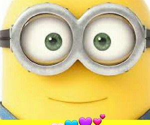 cute and love minions image