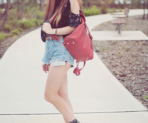 bag, creepers, and fashion image