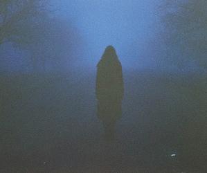 alone, grunge, and dark image