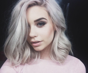 hair, amanda steele, and makeup image