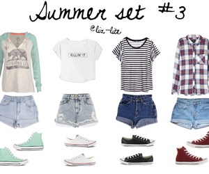 converse, Polyvore, and summer image
