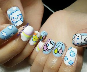 design, pretty, and nails art image