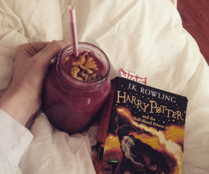 harry potter, hp, and smoothie image