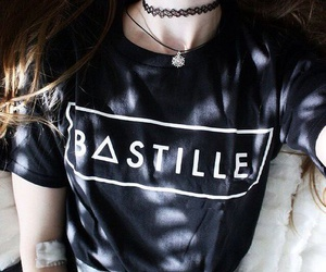 bastille, black girl, and grunge image