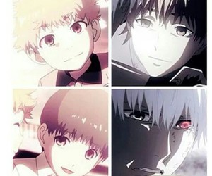 tokyo ghoul, anime, and hide image