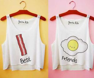 bacon, best friends, and friends image