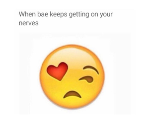 bae, love, and funny image