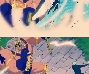 one piece, vs, and pica image