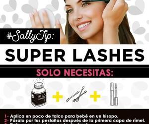 tips, beauty, and eyelashes image