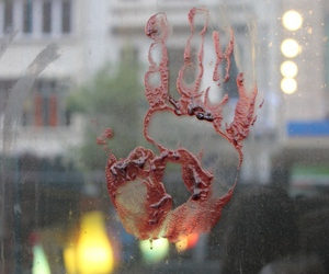 blood, zombie, and hand image