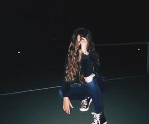 converse, dark, and grunge image