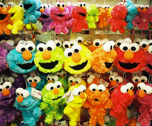 elmo, cute, and colorful image