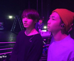 jungkook, bts, and rap monster image