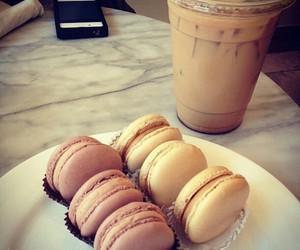 food, macaron, and macarons image
