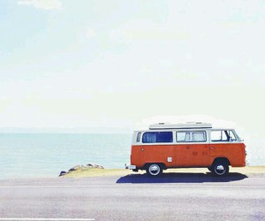 car, summer, and sea image