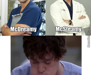 george, mcdreamy, and mcsteamy image