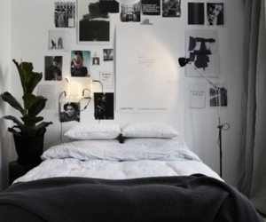 bedroom, bed, and interior image