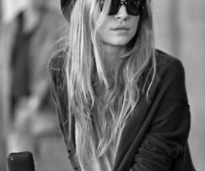 clemence poesy, blonde, and hat image