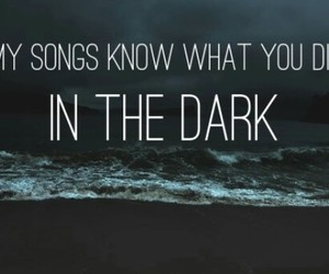 band, Darkness, and did image