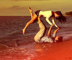 adorable, beach, and Relationship image