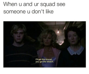 best friends, squad, and ahs image