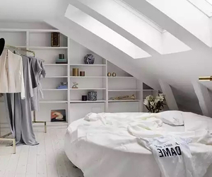 attic, design, and house image