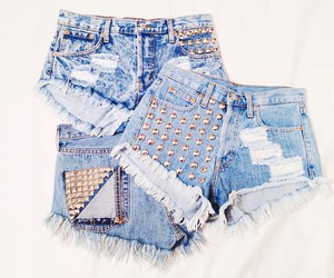 beautiful, blue, and shorts image