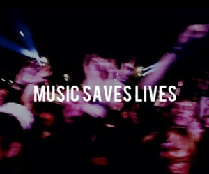 music and save image